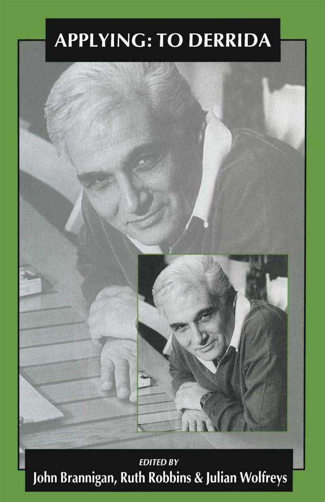 Applying: To Derrida als eBook Download von