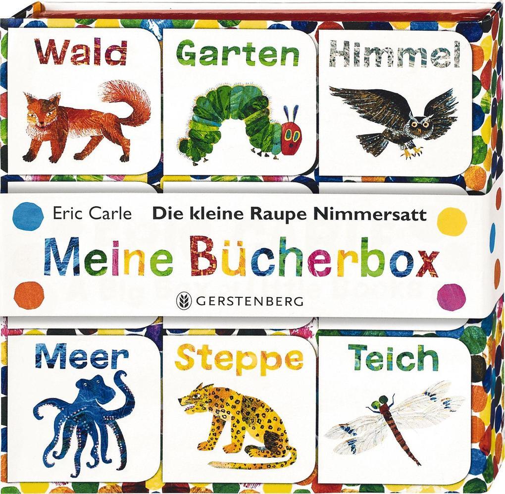 Die kleine Raupe Nimmersatt - Meine Bücherbox als Buch