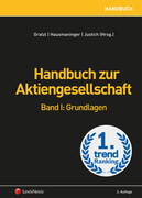 Handbuch zur Aktiengesellschaft, Band I