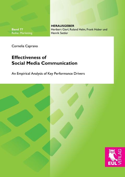Effectiveness of Social Media Communication als...