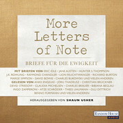[Shaun Usher: More Letters of Note]