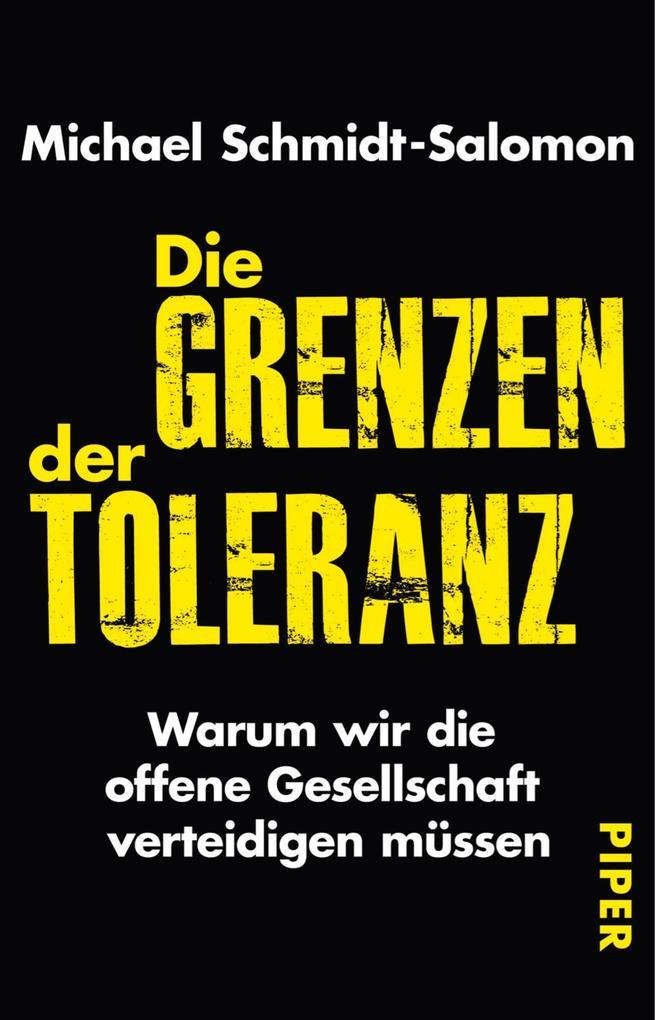 Die Grenzen der Toleranz als eBook Download von...