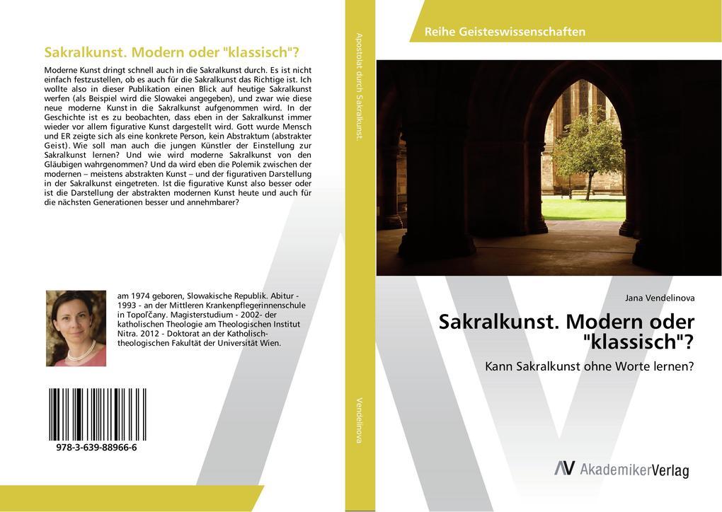Sakralkunst. Modern oder klassisch? als Buch vo...