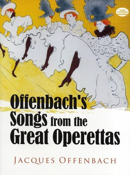 Offenbach's Songs from the Great Operettas als Taschenbuch