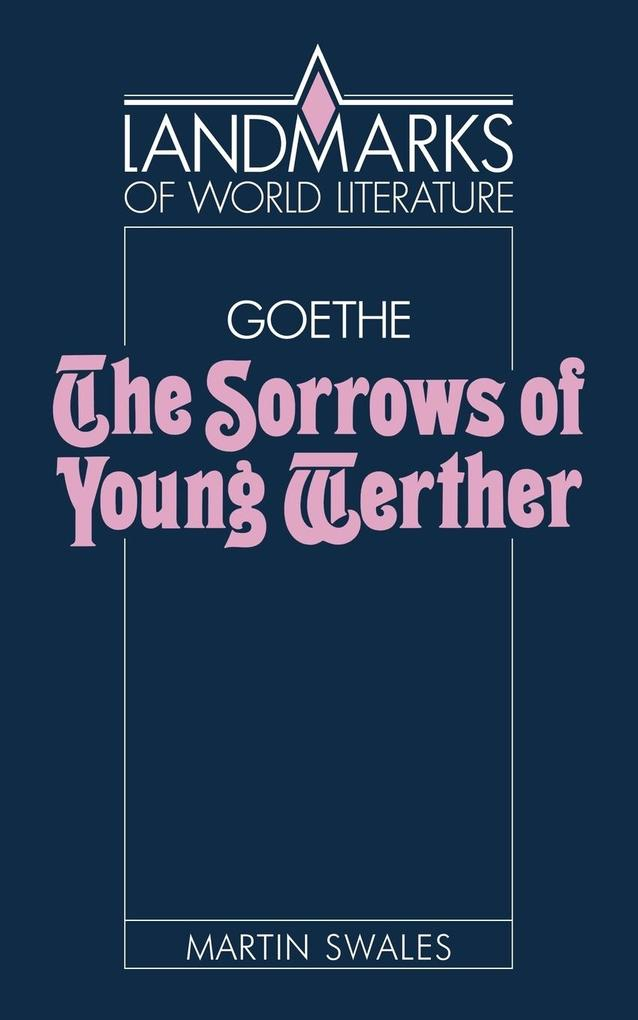 Goethe: The Sorrows of Young Werther als Taschenbuch