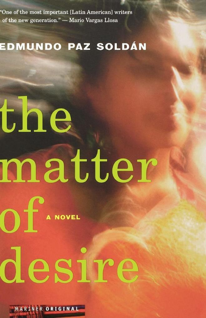 The Matter of Desire als Taschenbuch