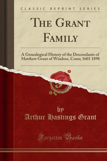 The Grant Family als Taschenbuch von Arthur Has...