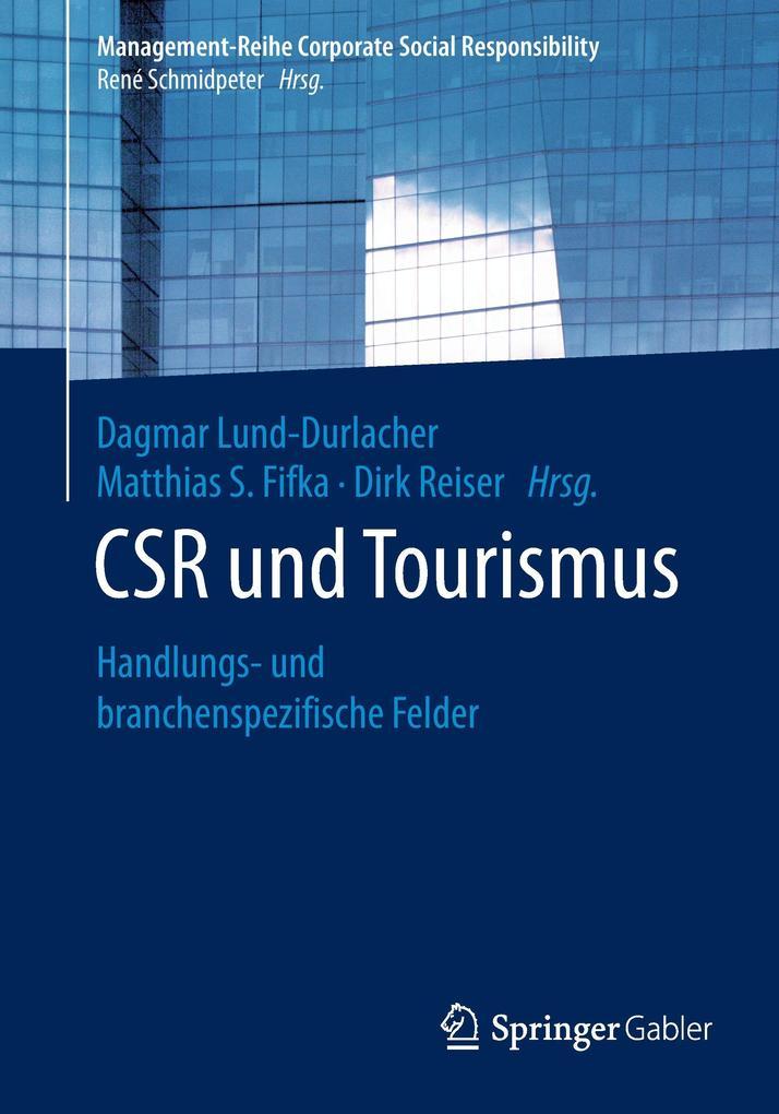 CSR und Tourismus als Buch von