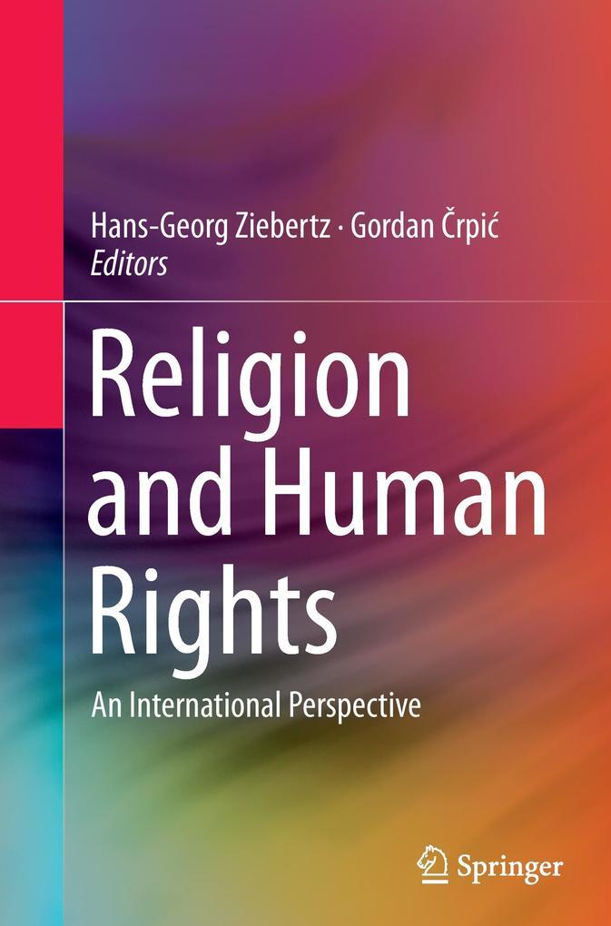 Religion and Human Rights als Buch von