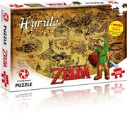 Winning Moves - Puzzle - The Legend of Zelda Hyrule Field, 500 Teile