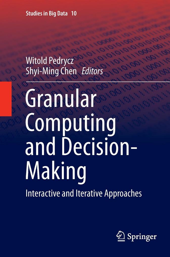 Granular Computing and Decision-Making als Buch...
