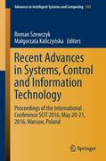 Recent Advances in Systems, Control and Information Technology