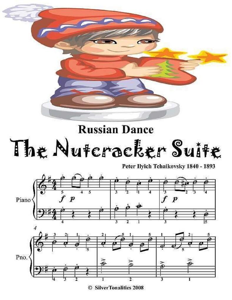 Russian Dance the Nutcracker Suite - Easy Piano...