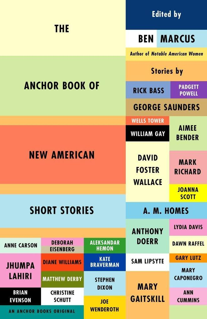 The Anchor Book of New American Short Stories als Buch