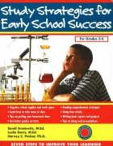 Study Strategies for Early School Success: Seven Steps to Improve Your Learning als Taschenbuch