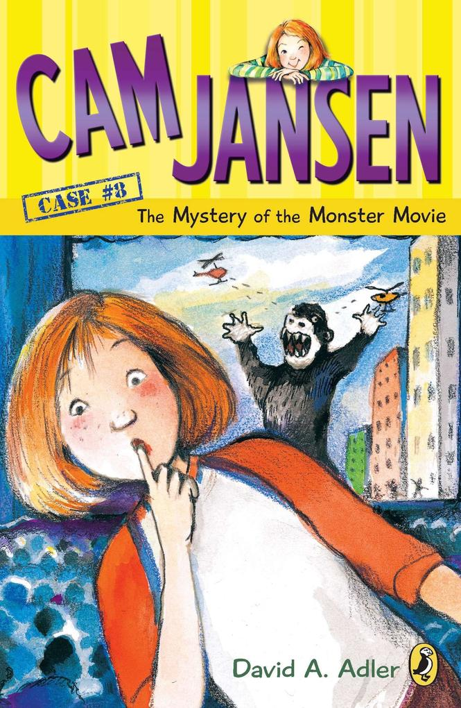 CAM Jansen: The Mystery of the Monster Movie #8 als Taschenbuch
