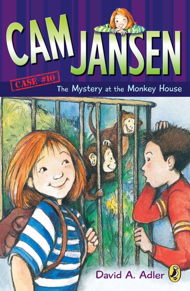 CAM Jansen: The Mystery of the Monkey House #10 als Taschenbuch
