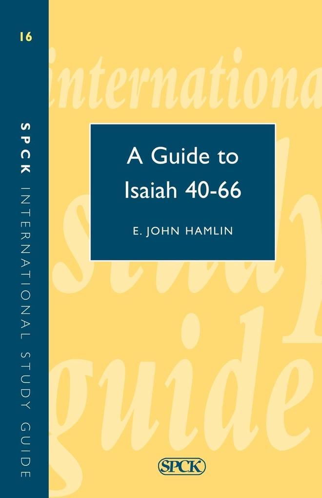Guide to Isaiah 40-66 (Isg 16) als Taschenbuch