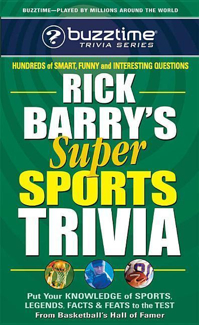 Rick Barry's Super Sports Trivia als Taschenbuch