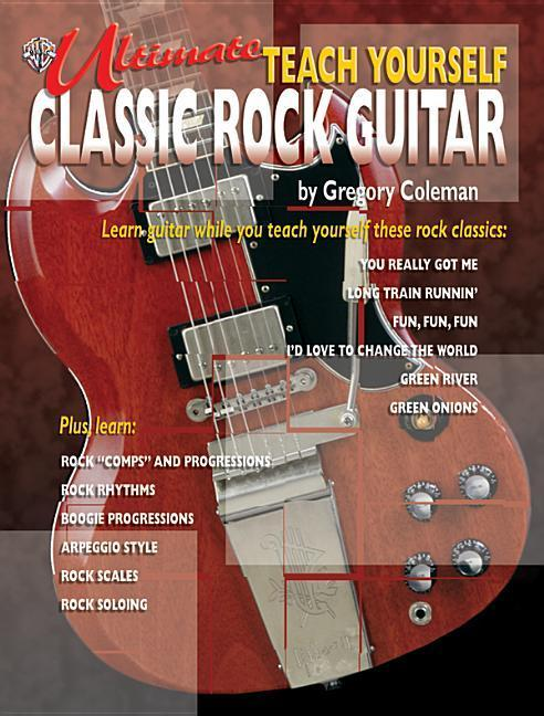 Ultimate Teach Yourself Classic Rock Guitar: Book & CD [With CD] als Taschenbuch