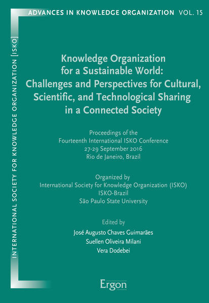 Knowledge Organization for a Sustainable World:...