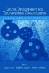 Leader Development for Transforming Organizations als Taschenbuch