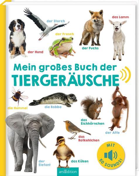 Mein großes Buch der Tiergeräusche als Buch