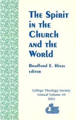 The Spirit in the Church and the World als Taschenbuch