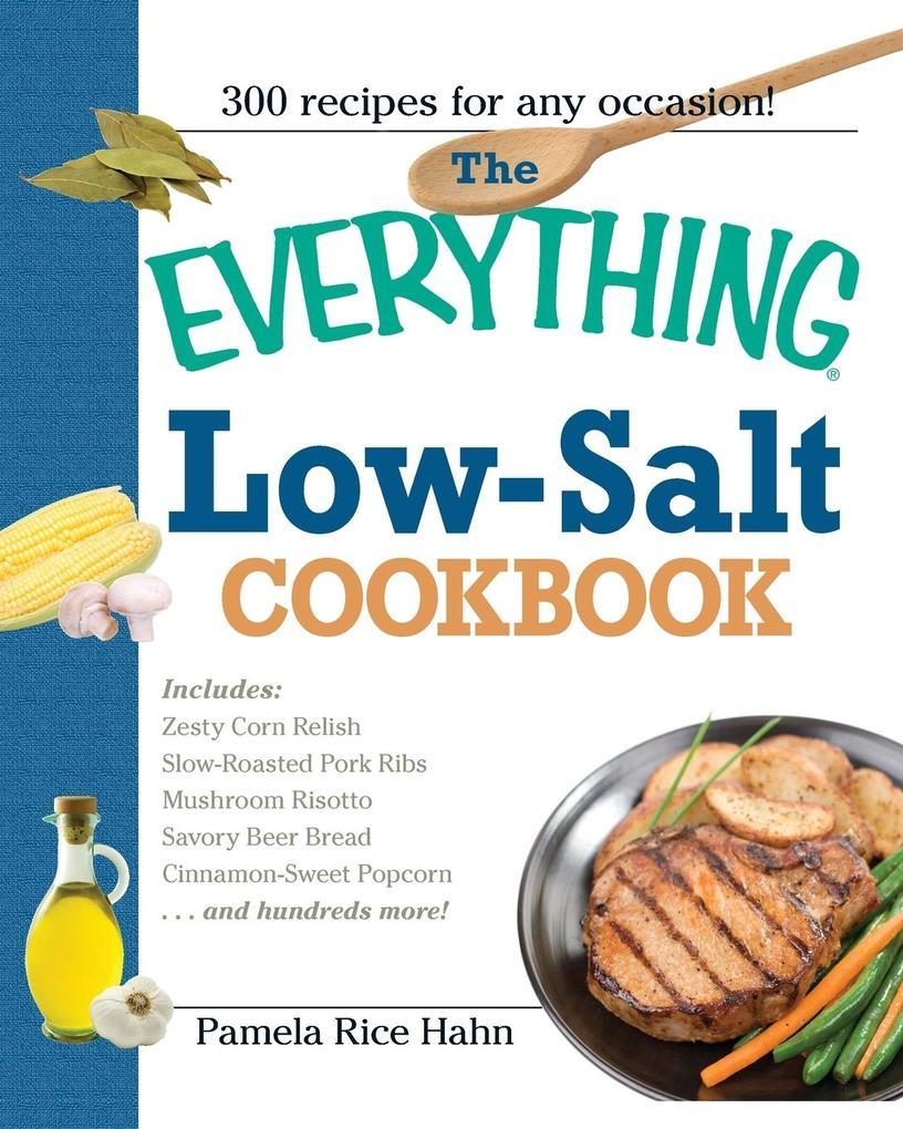 The Everything Low Salt Cookbook Book als Taschenbuch