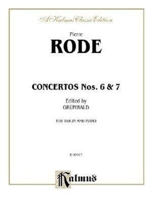 Concertos Nos. 6 and 7 als Taschenbuch
