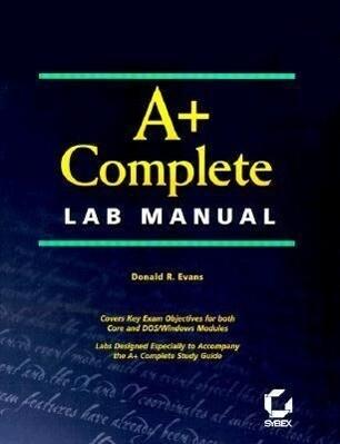 A+ Complete Lab Manual als Taschenbuch
