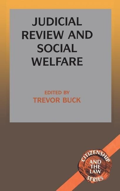 Judicial Review and Social Welfare als Buch