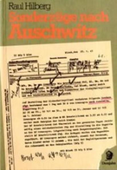 Sonderzüge nach Auschwitz als Buch