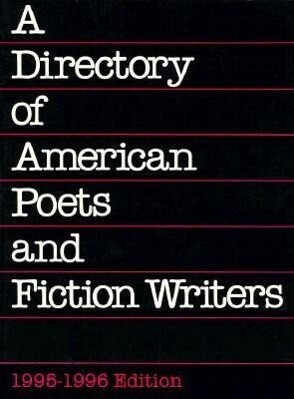 A Directory of American Poets and Fiction Writers, 1994-1996 als Taschenbuch