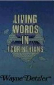 Living Words Series-1 Corinthians als Taschenbuch