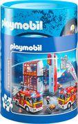 Schmidt Spiele - Spardose und Puzzle - Playmobil, 100 Teile