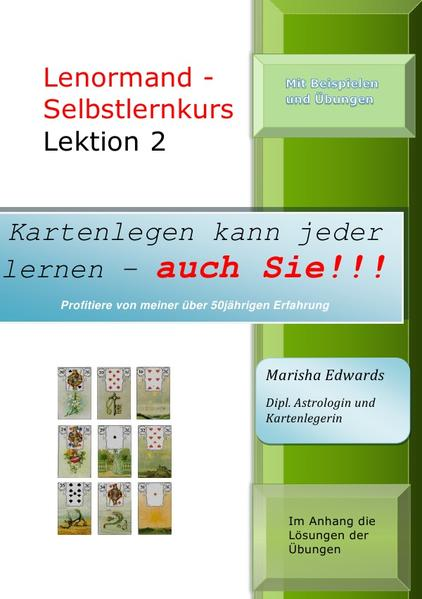 Lenormand-Selbstlernkurs (L2) als Buch