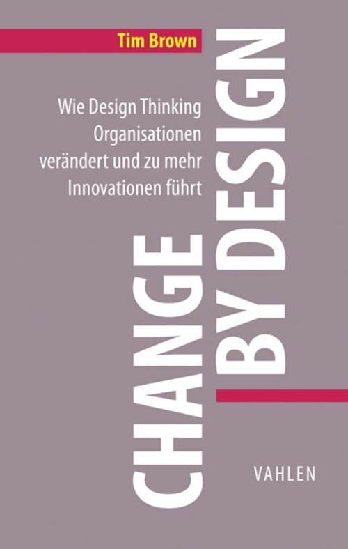 Change by Design als eBook