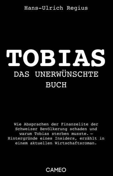 Tobias als Buch von Hans-Ulrich Regius