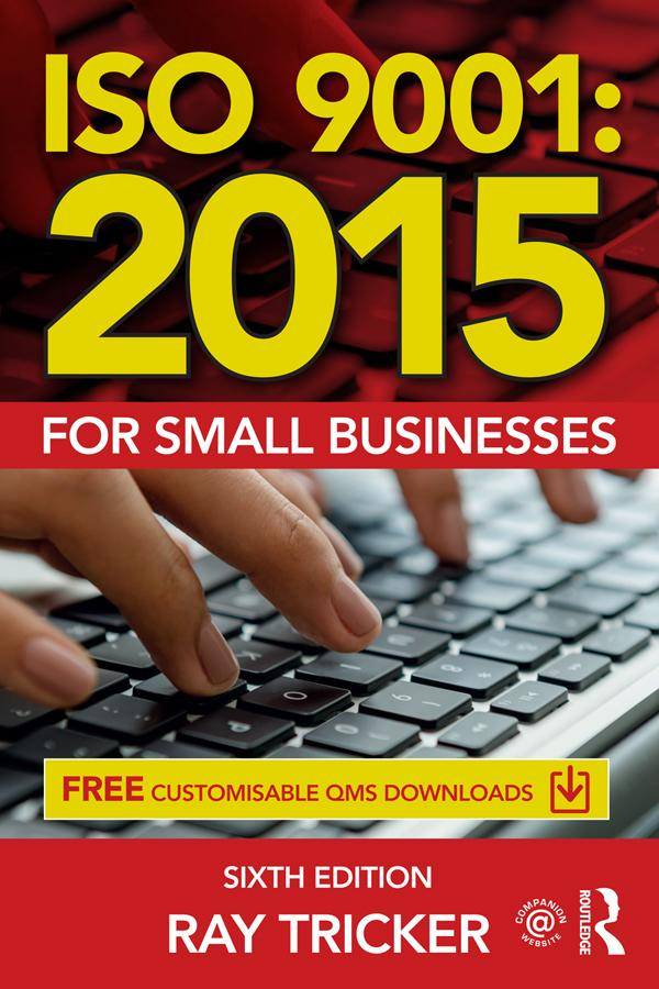 ISO 9001:2015 for Small Businesses als eBook Do...