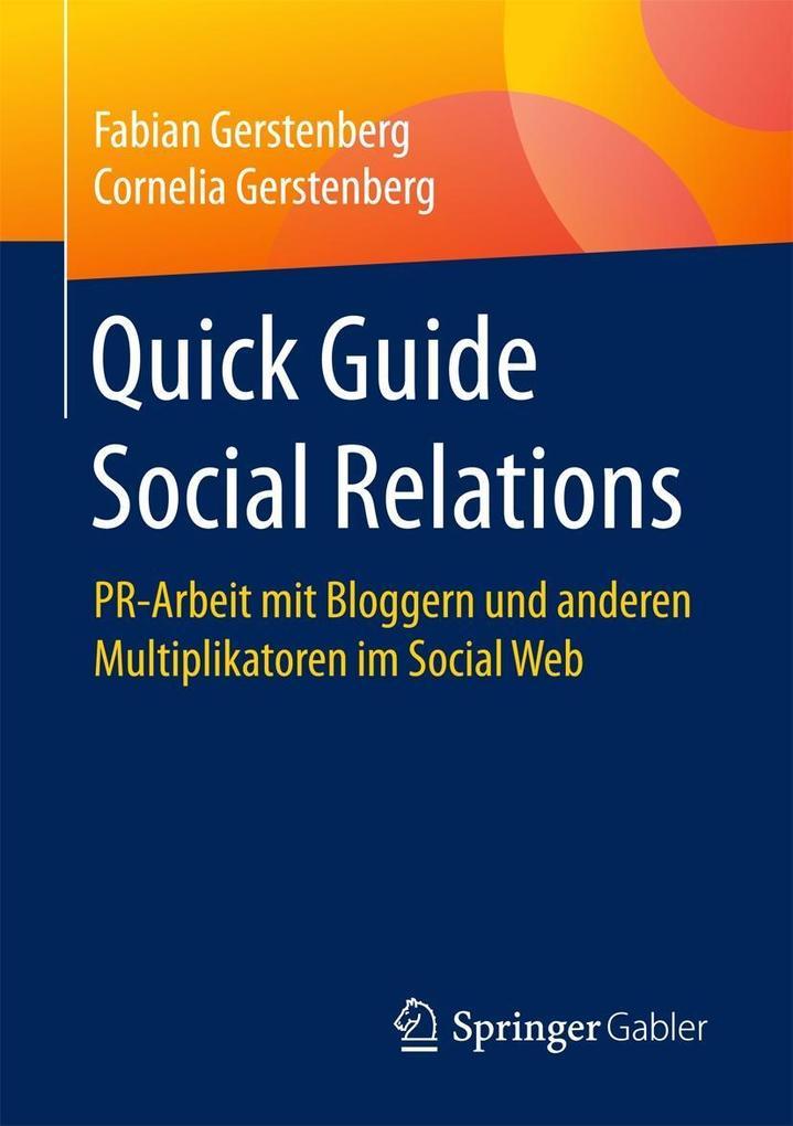 Quick Guide Social Relations als eBook Download...