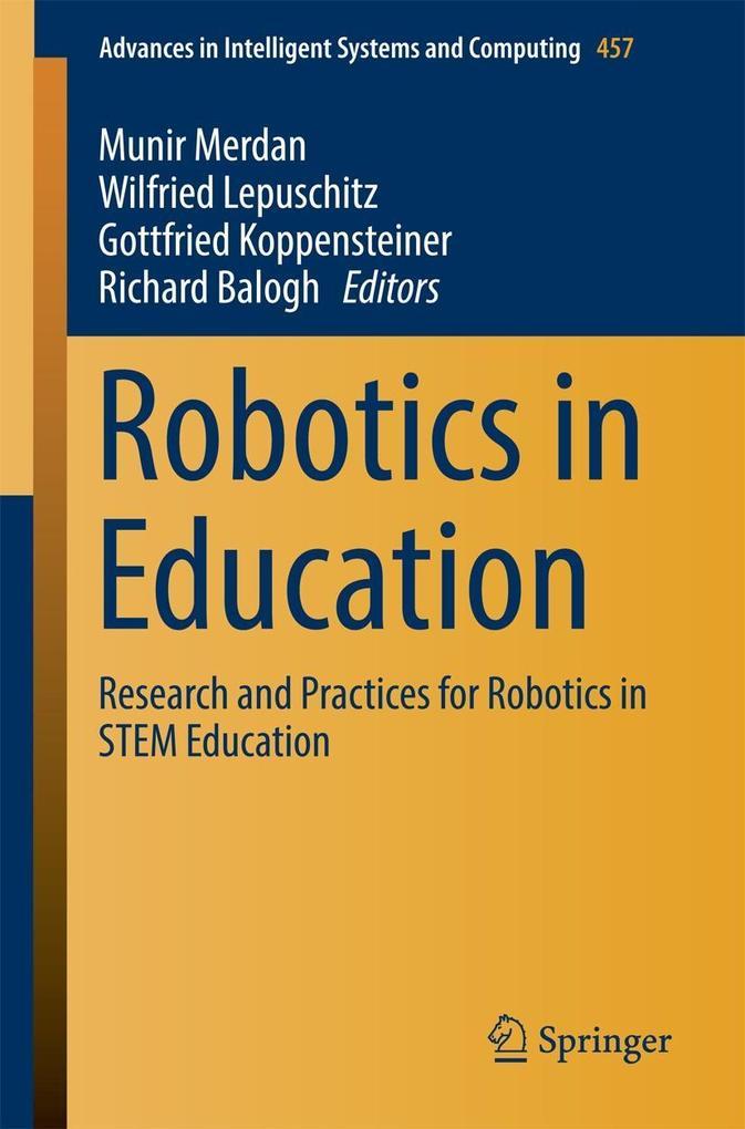 Robotics in Education als eBook Download von