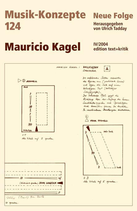 Mauricio Kagel als Buch