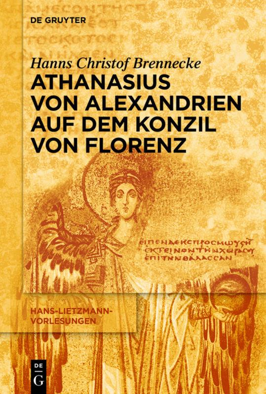 Athanasius von Alexandrien auf dem Konzil von Florenz als Buch