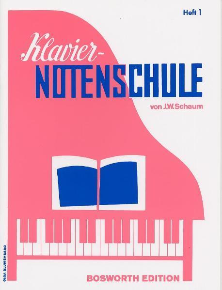 Klavier-Notenschule 1 als Buch