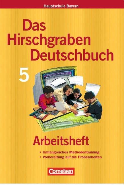 Das Hirschgraben Sprachbuch 5. Arbeitsheft m. Lös. Neu. Bayern. Neue Rechtschreibung als Buch