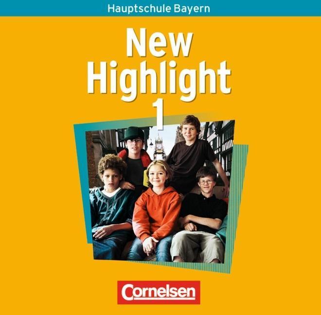 New Highlight 1. 5. Jahrgangsstufe. 2 Lieder- und Text-CDs. Bayern als Hörbuch