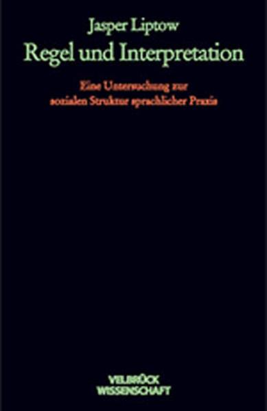 Regel und Interpretation als Buch