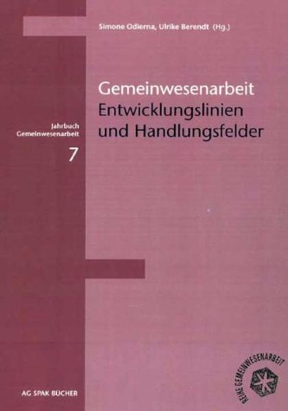 Jahrbuch Gemeinwesenarbeit 7 als Buch