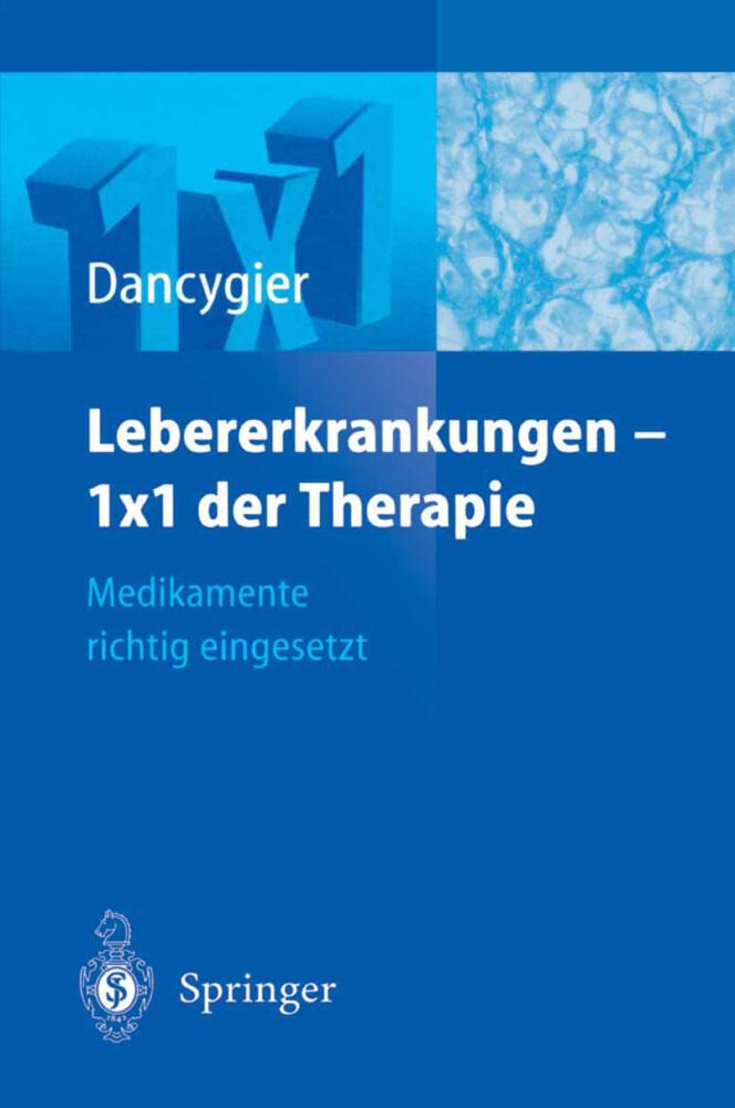 Lebererkrankungen 1×1 der Therapie als Buch